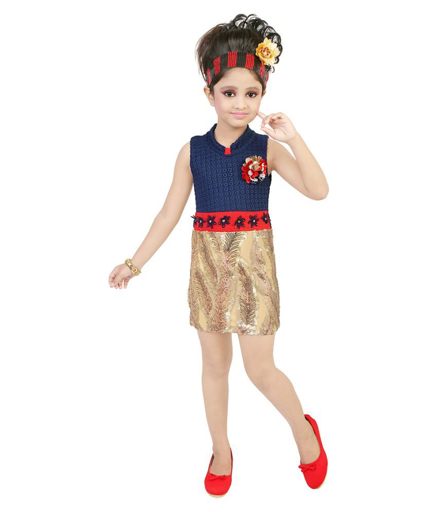 8b245ffc5094 FRENCH CONNECTION KIDS GIRLS DRESS price at Flipkart