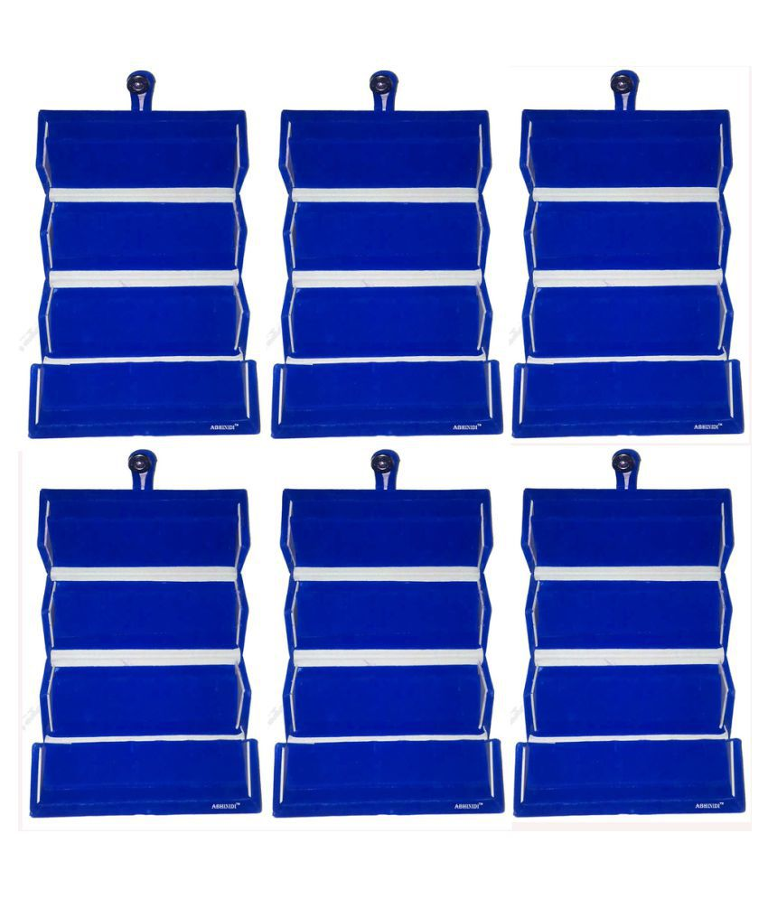 Abhinidi Blue Earrings Boxes - Pack of 6