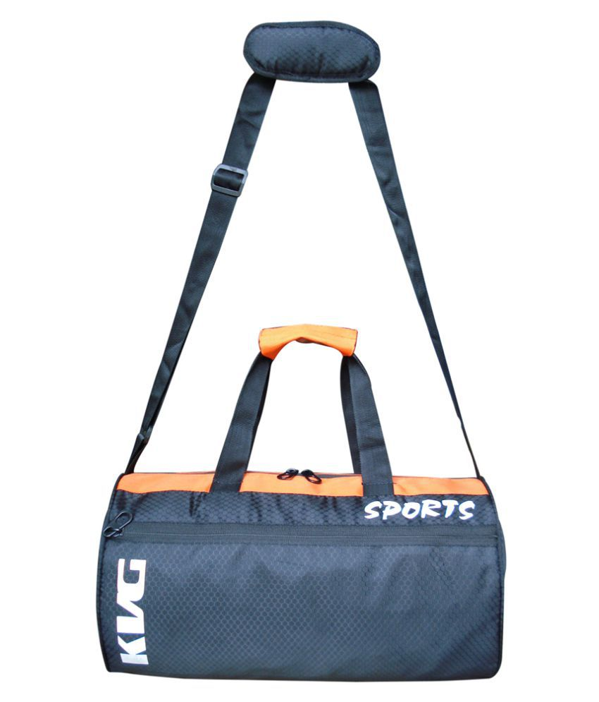 KVG Black Gym Bag