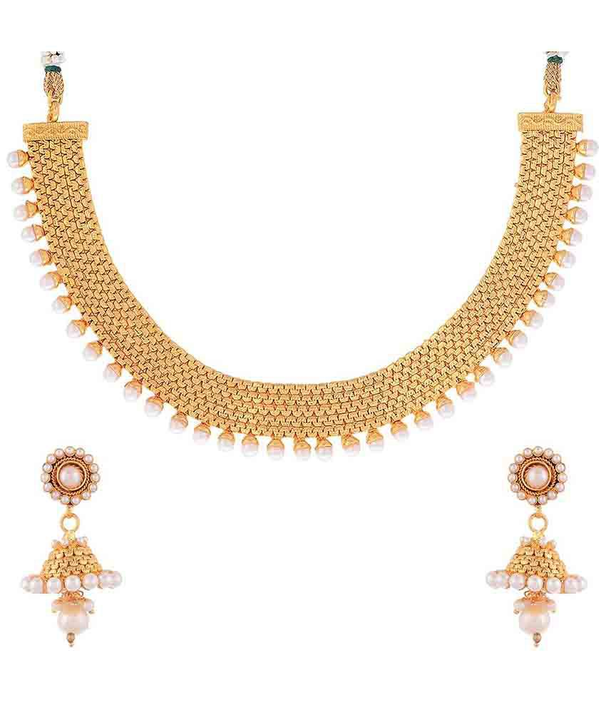 Awww Golden Necklace Set