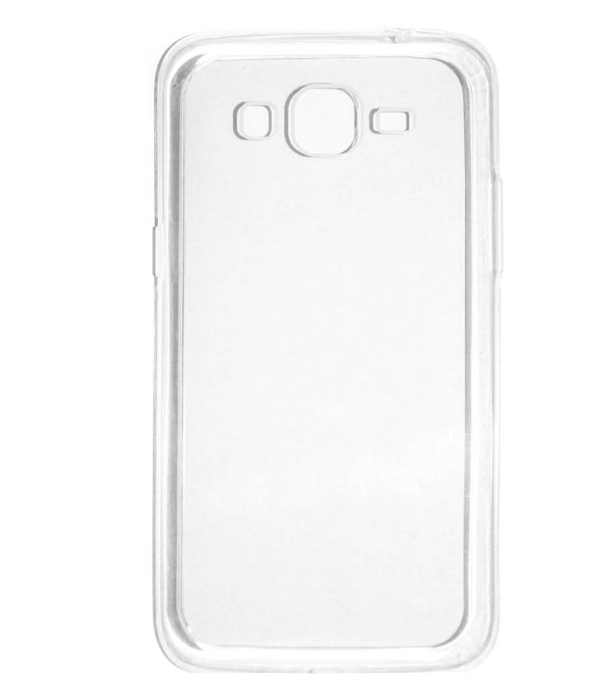 d34c2680c12 Samsung Galaxy J2 Pro Flip Cover by Celzo - Transparent - Plain Back Covers  Online at Low Prices