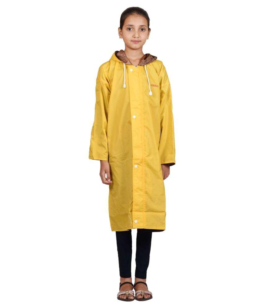 Versalis Yellow Polyester Raincoat