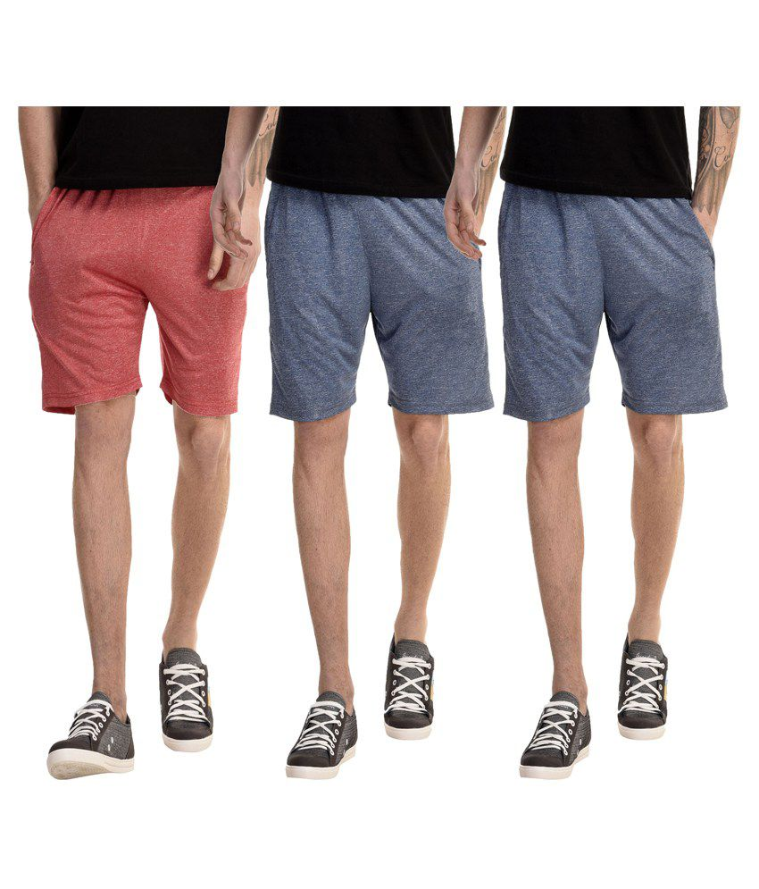 Gaushi Multi Shorts Pack of 3