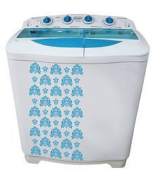Mitashi 8.0 Kg MiSAWM80v10 Semi Automatic Top Load Washing Machine White with 2 + 3 years extended warranty