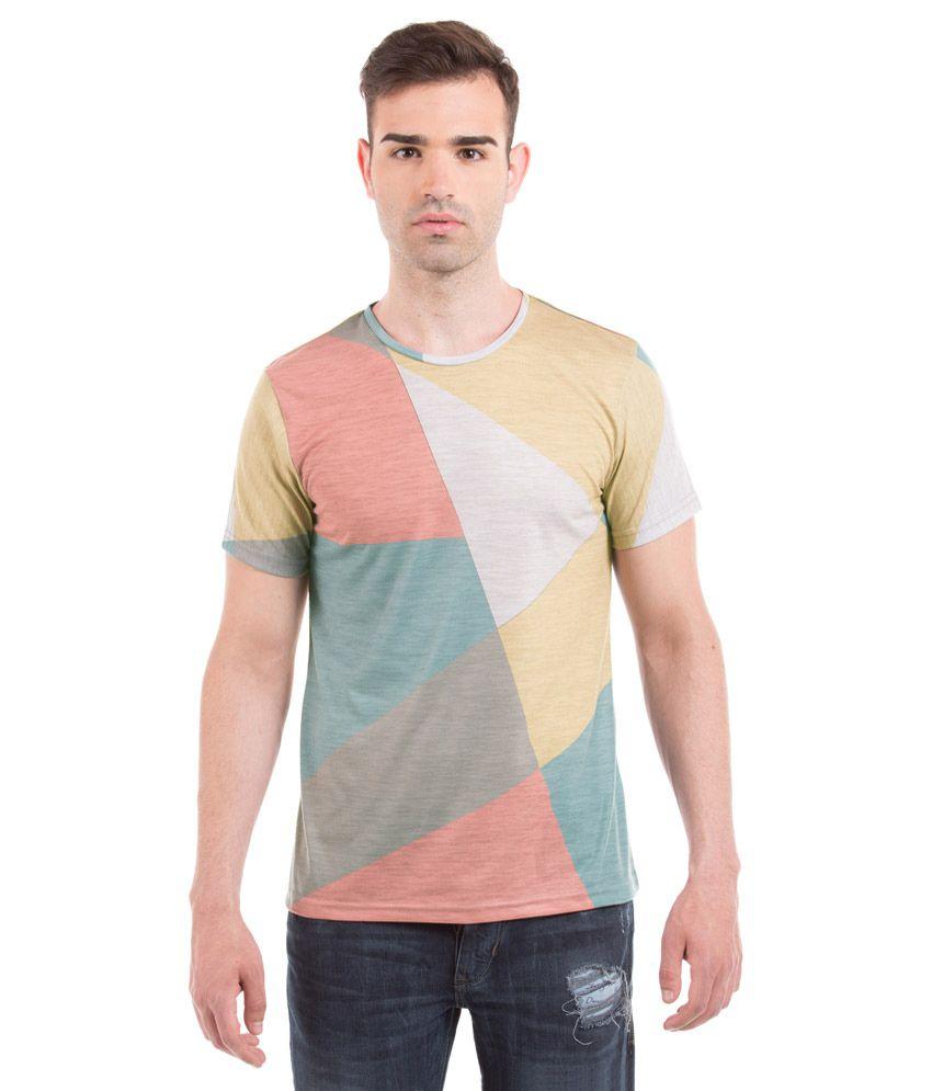 Prym Multi Round Half Printed T-Shirt