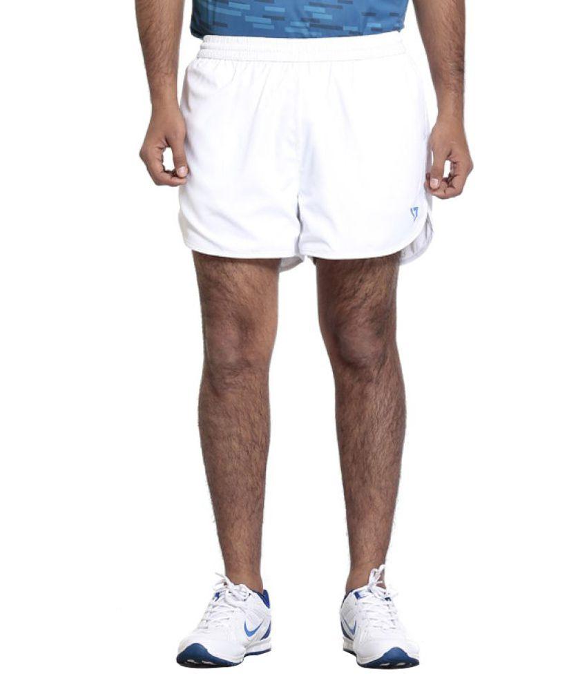Seven White Shorts