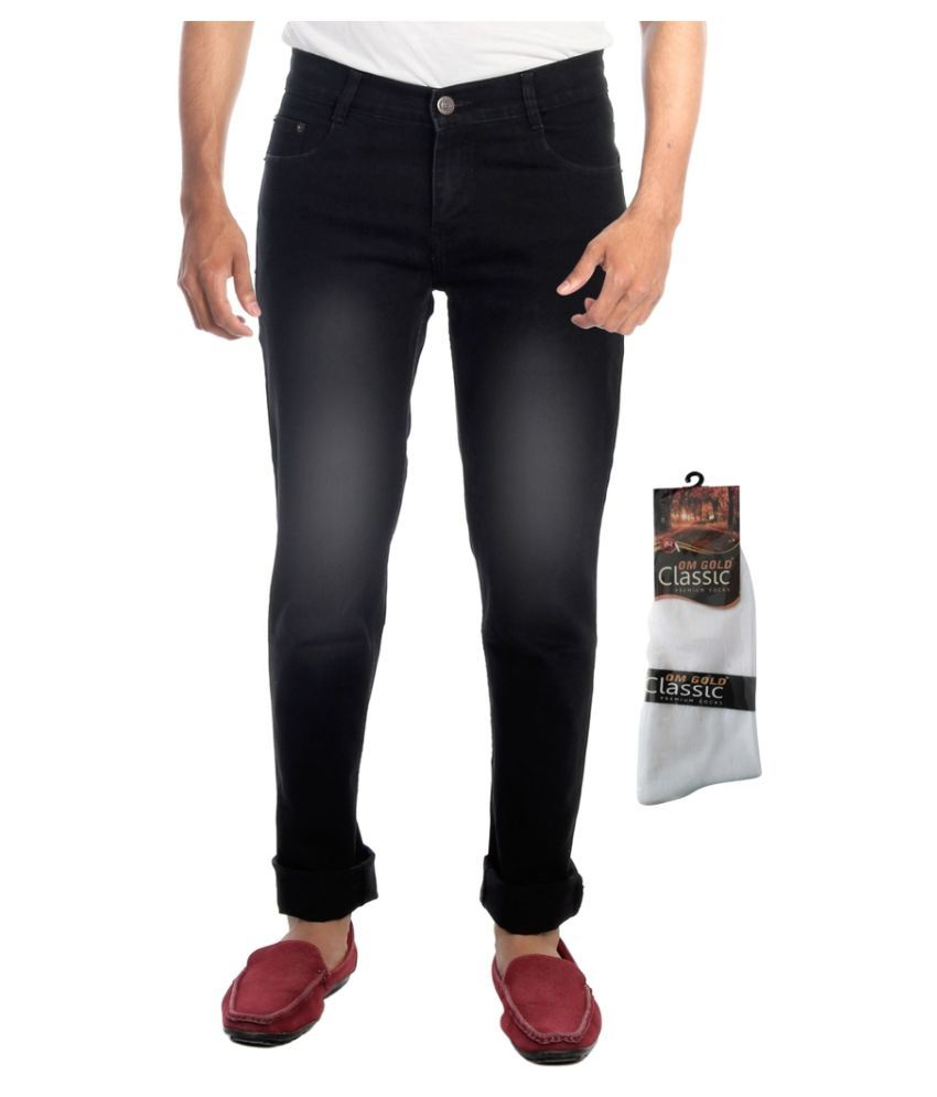 Haltung Black Slim Faded Jeans