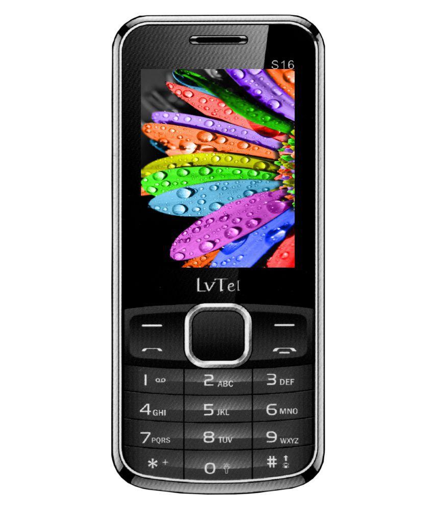 Lvtel S16 4GB and Below Black