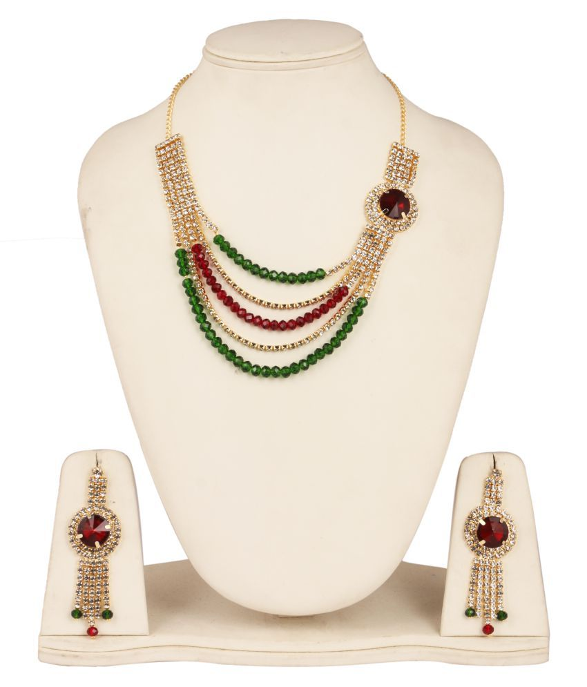 Fanvi Multicolour Necklace Set
