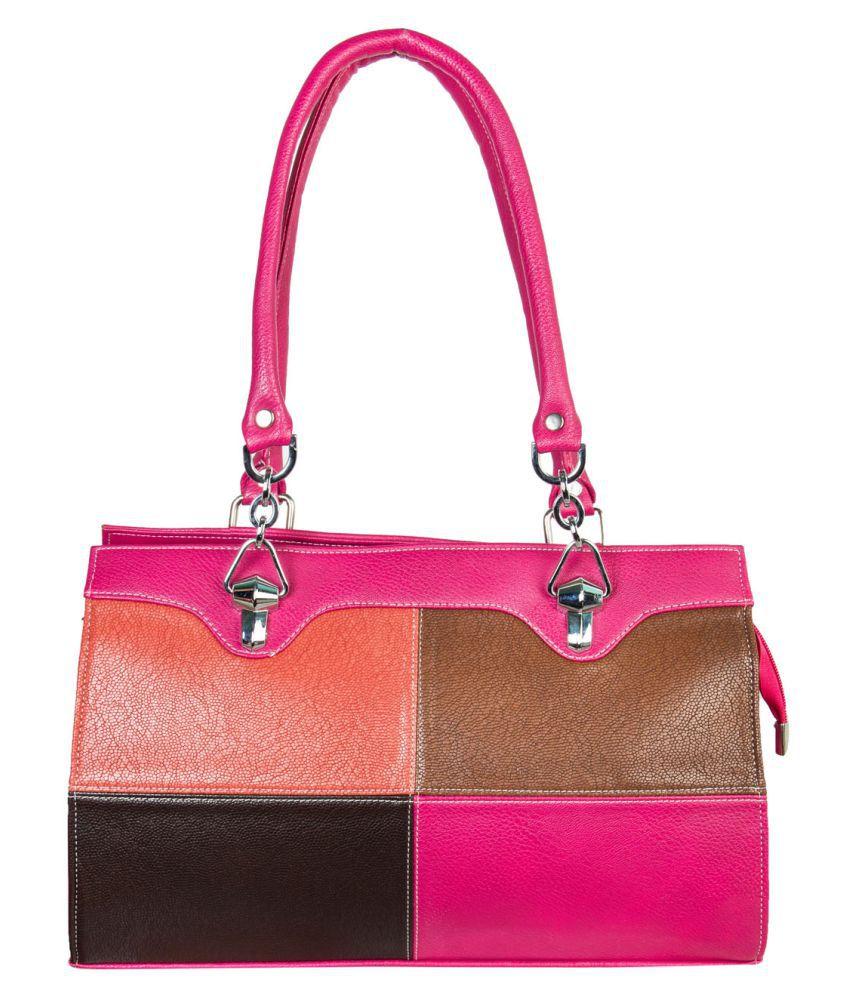 Louise Belgium Multi Faux Leather Handheld