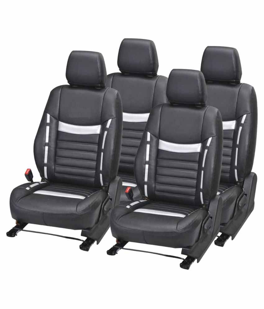 Gstyle Car Seat Cover for Tata Tiago Set of 4: Buy Gstyle Car Seat