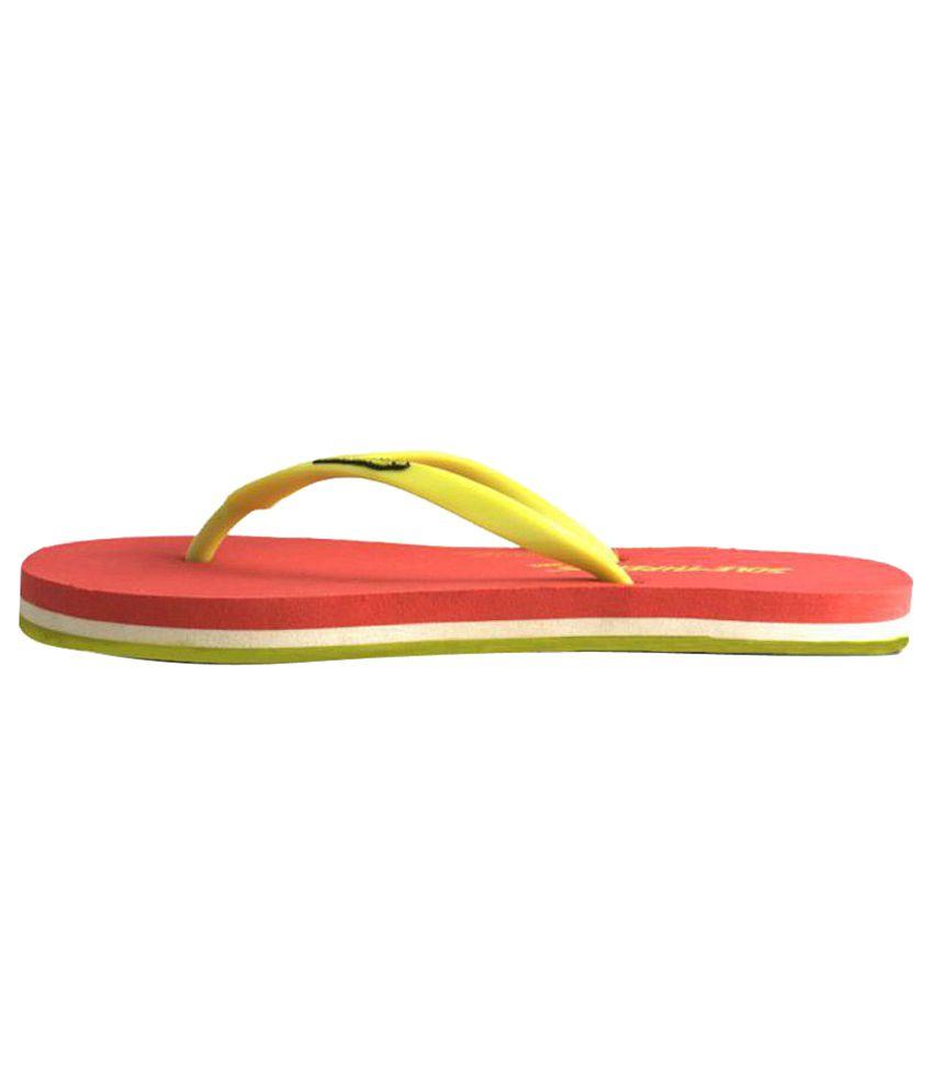 2272c13e1 Sole Threads Green   PeachPuff Flip Flops Price in India- Buy Sole ...