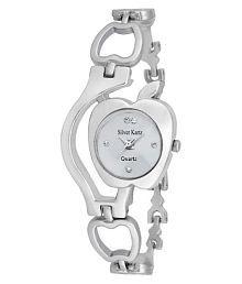 Silver Kartz Silver Analog Watch