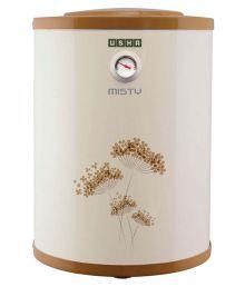 Usha 25 Ltr Misty Storage Geyser - Ivory gold