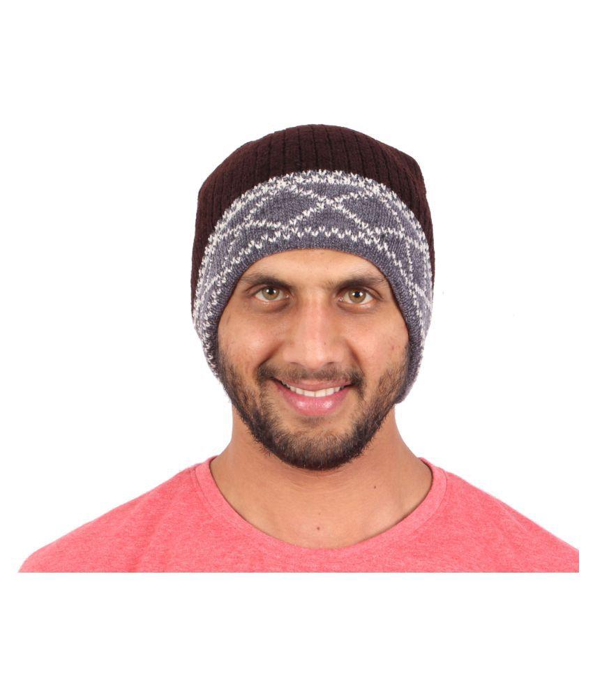 Sushito Multicolour Woolen Cap