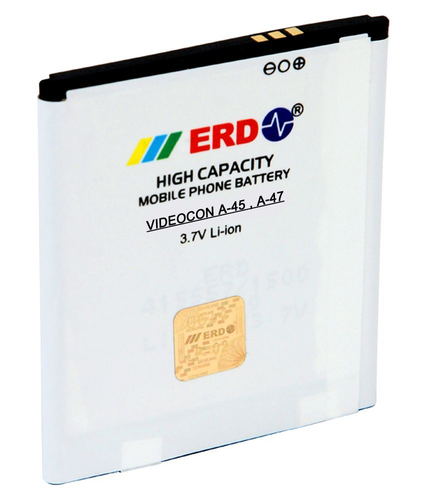 ERD 1500mAh Battery (For Videocon A45)