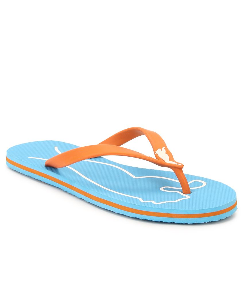 Puma Blue & Orange Lucie 4 Wn s DP Flip Flops