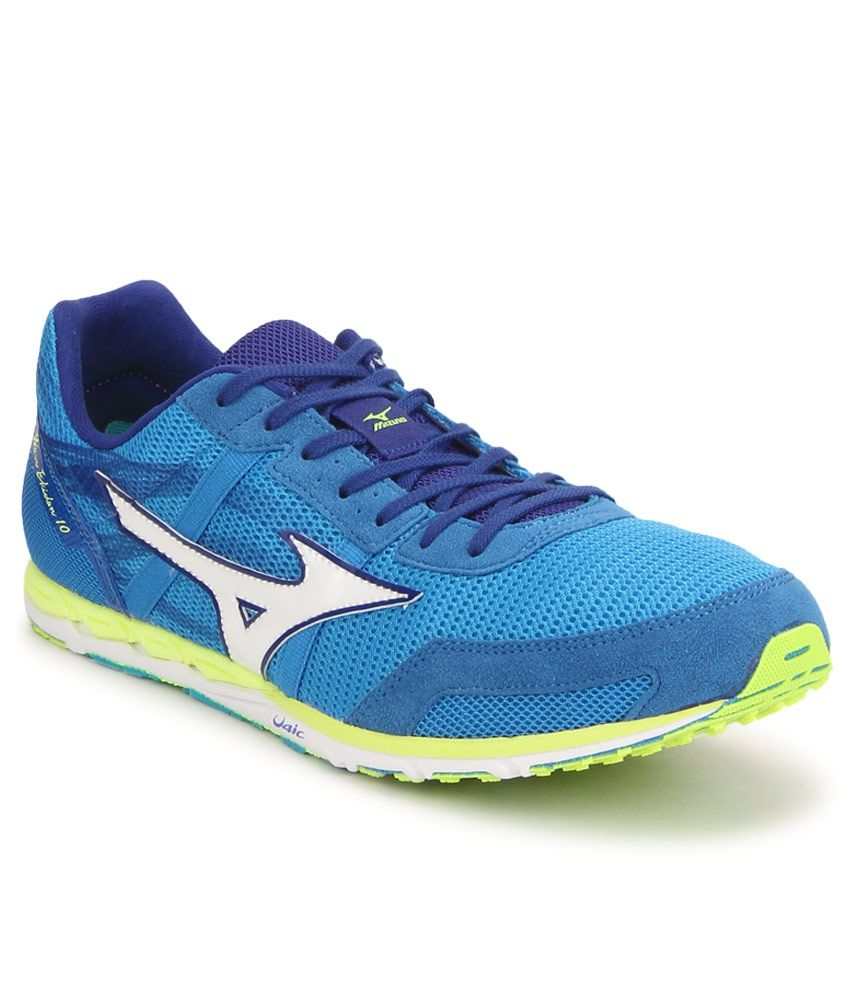 9224da641dcb Mizuno Wave Ekiden 10 Multi Color Running Sports Shoes: Buy Online at Best  Price on Snapdeal