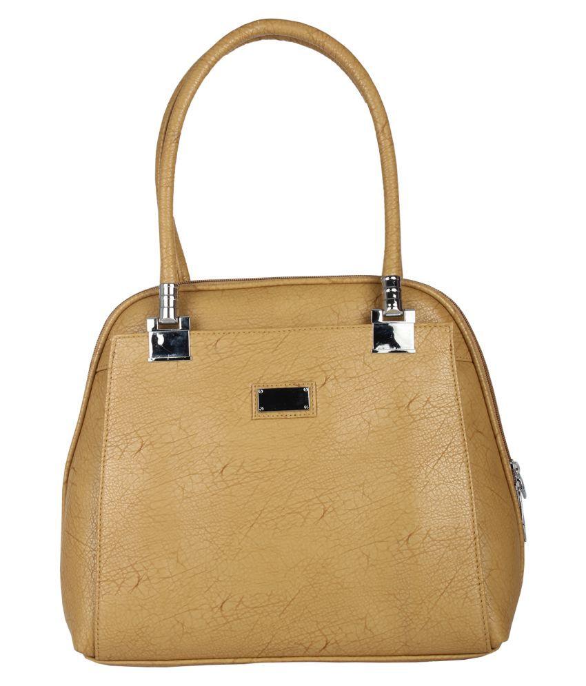 Hide Bulls Brown Faux Leather Shoulder Bag