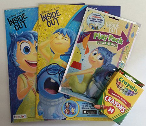 Inside Out Coloring Stickers Free Apple App Downloads Crayons Activity Bundle Buy Inside Out Coloring Stickers Free Apple App Downloads Crayons Activity Bundle Online At Low Price Snapdeal