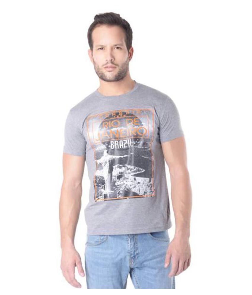 Rags Grey Round T-Shirt