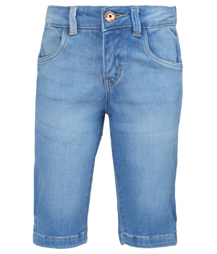 Gini & Jony Blue Denim Shorts