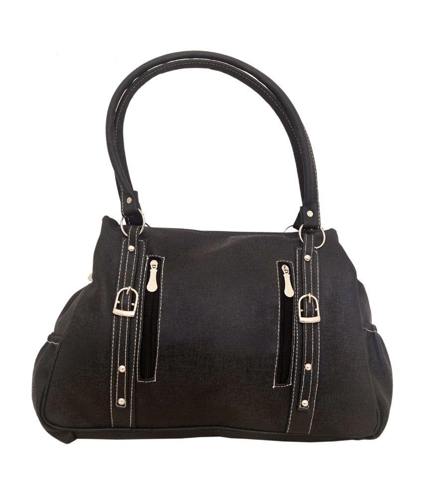 Smart Forever Black Shoulder Bag