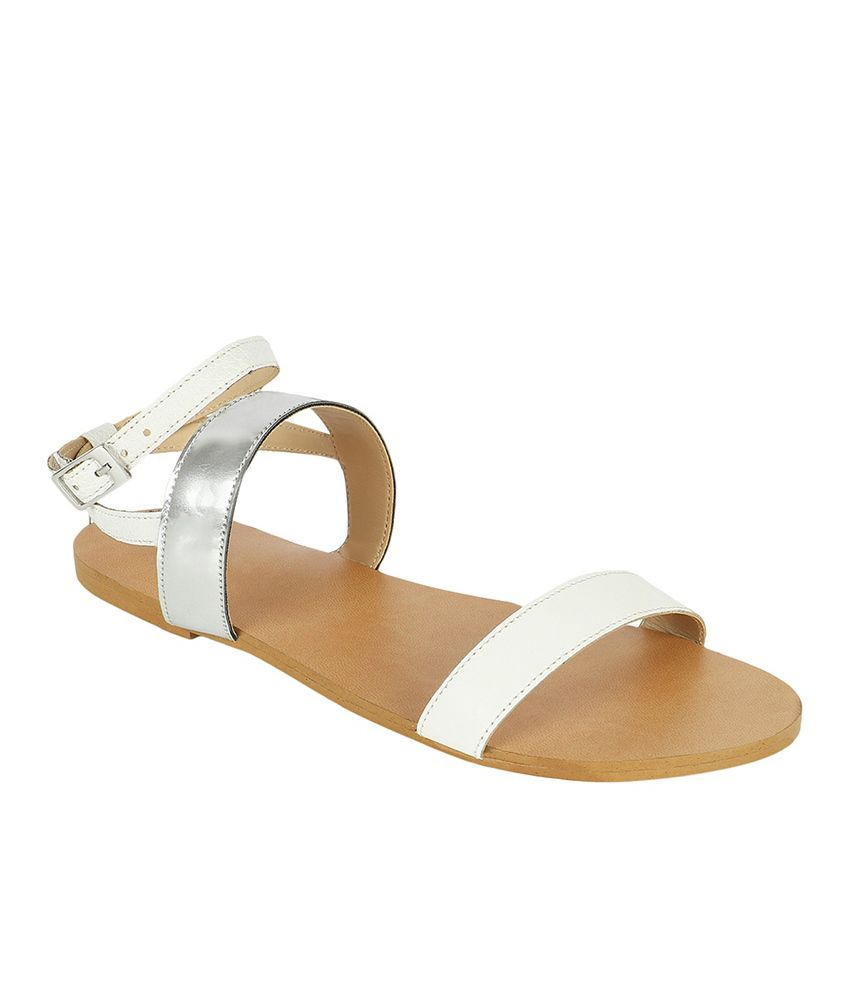 Namaskaar India White Sandal