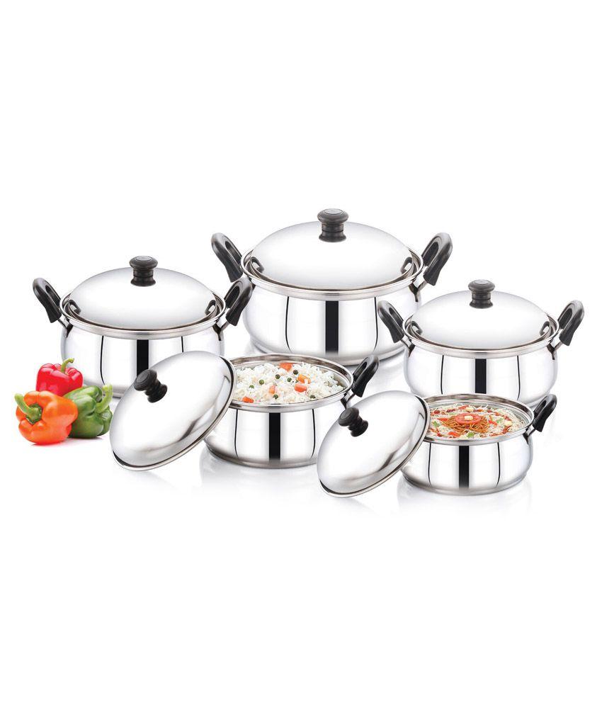 Pigeon Kitchen Star 5pcs Handi Set Buy Online At Best Price In