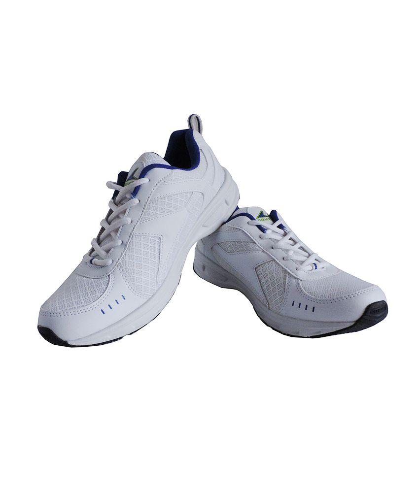 Bata Power White Shoes