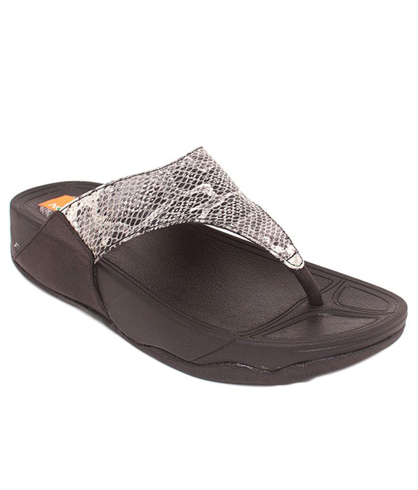 Tycoon Black Flat Slip-ons