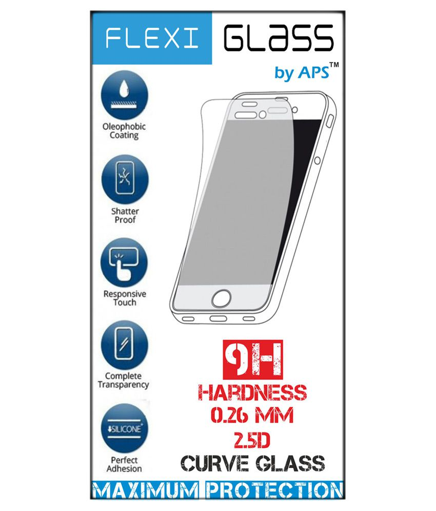 Micromax Canvas A110 Tempered Glass Screen Guard by APS