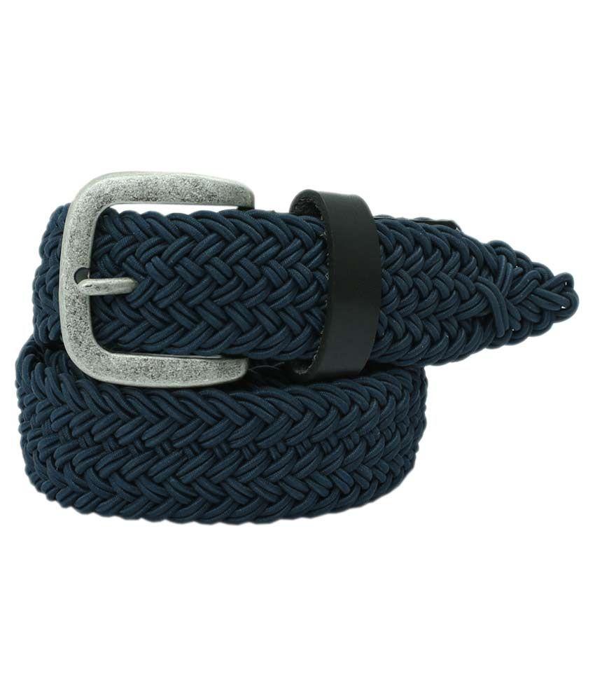Aspro Leder Black Leather Casual Belt