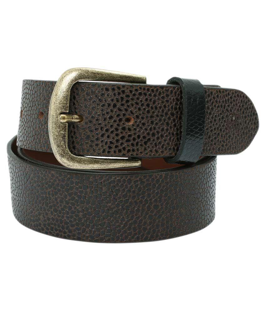 Aspro Leder Brown Leather Casual Belt