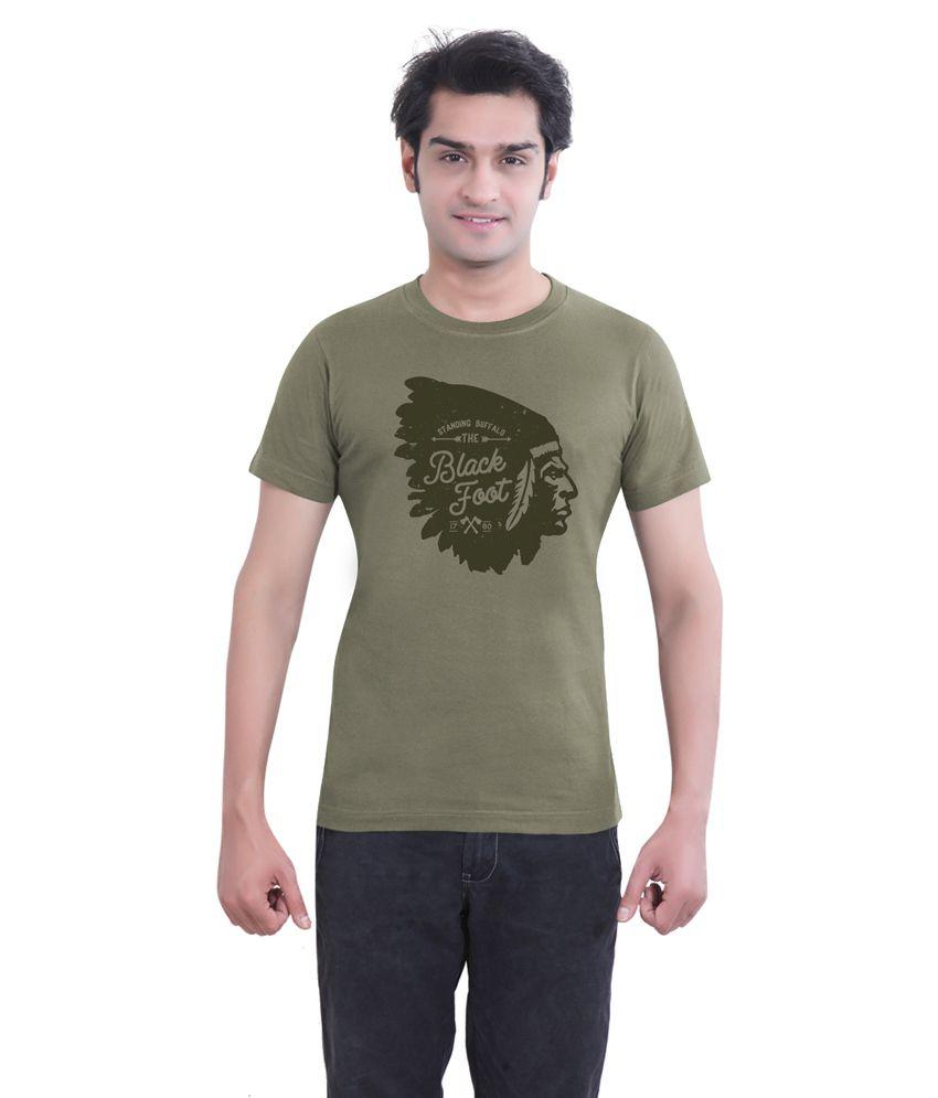 Tantra Grey Cotton T-shirt