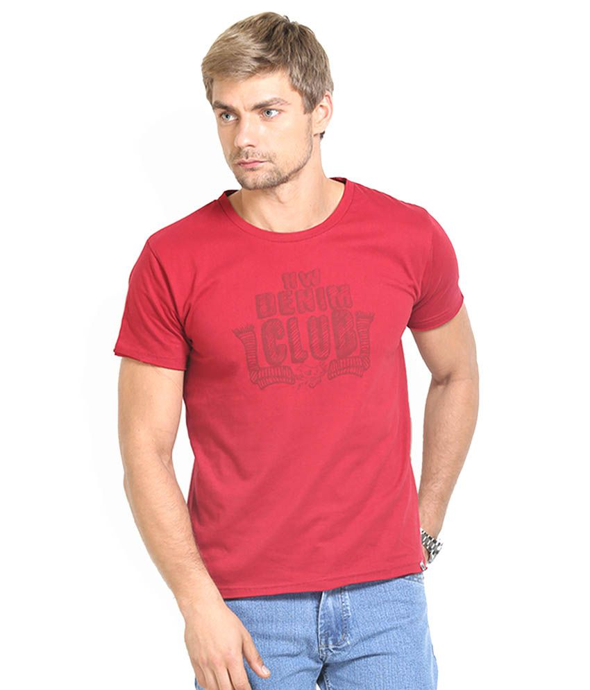 HW Red Cotton T-Shirt