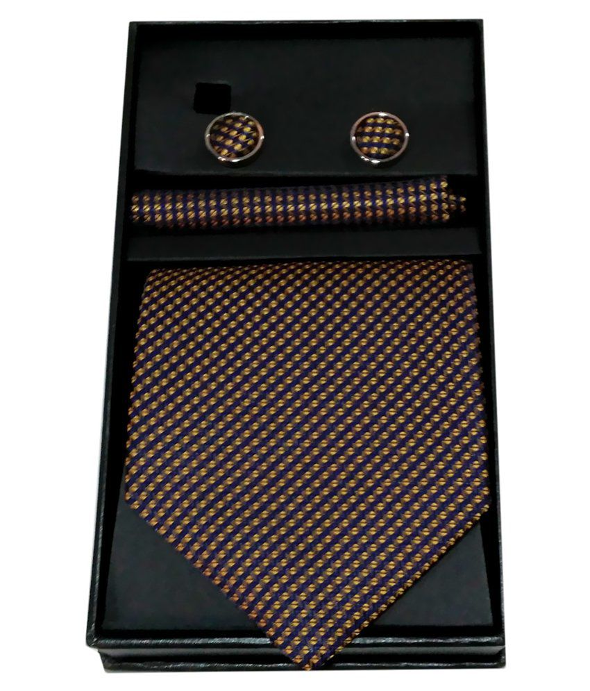 Magson Neo Black Jacquard Abstract Formal Tie