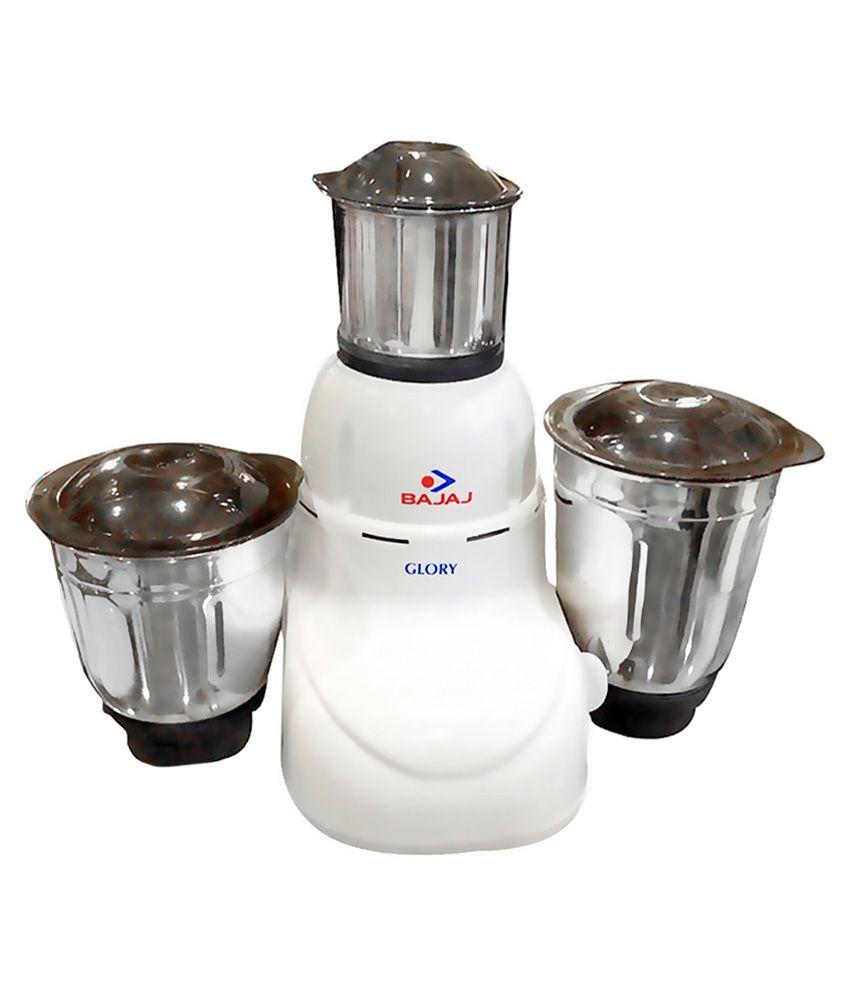 Bajaj 410167 Mixer Grinder White