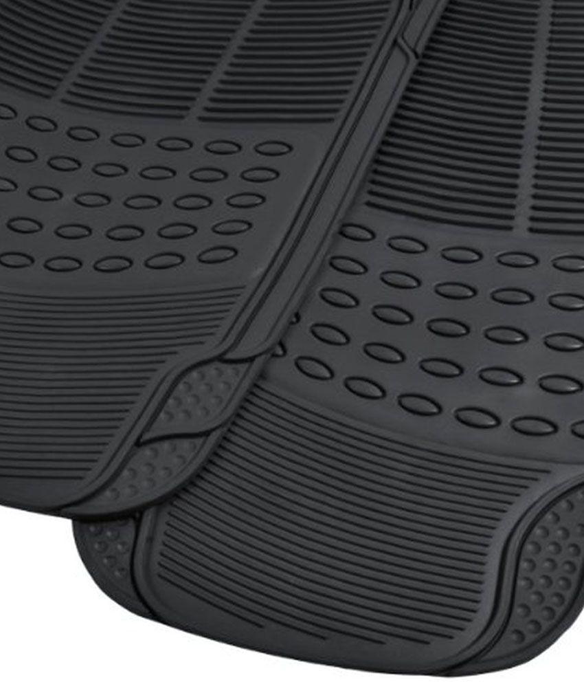 Rubber floor mats vw jetta -  Kingsway Black Rubber Floor Mats For Volkswagen Jetta Set Of 4