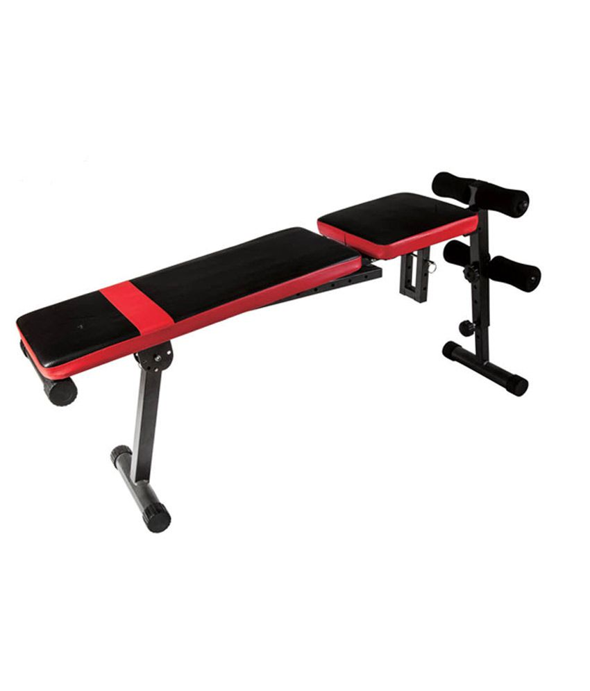 Kobo Adjustable Flat Exercise Bench Buy Online At Best