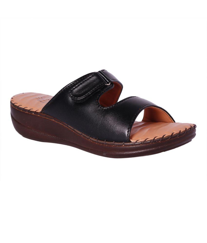 geniue stockist cheap price brand new unisex cheap online Pantof Black Flat Heels 6Co059MmiH