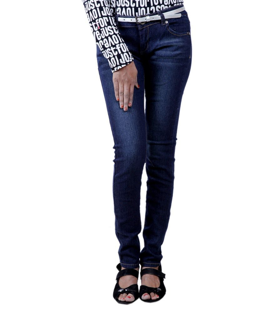 Rosie Blue Poly Cotton Jeans