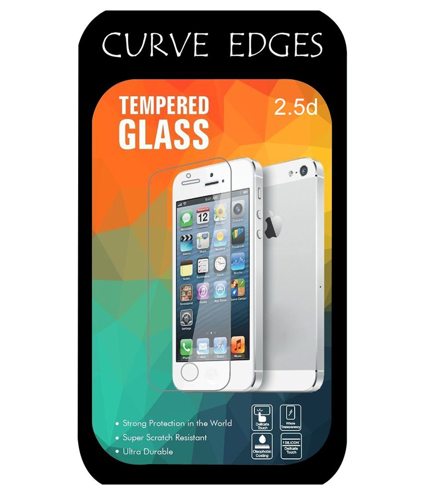 Moto G3 Tempered Glass Screen Guard by Go Crazzy
