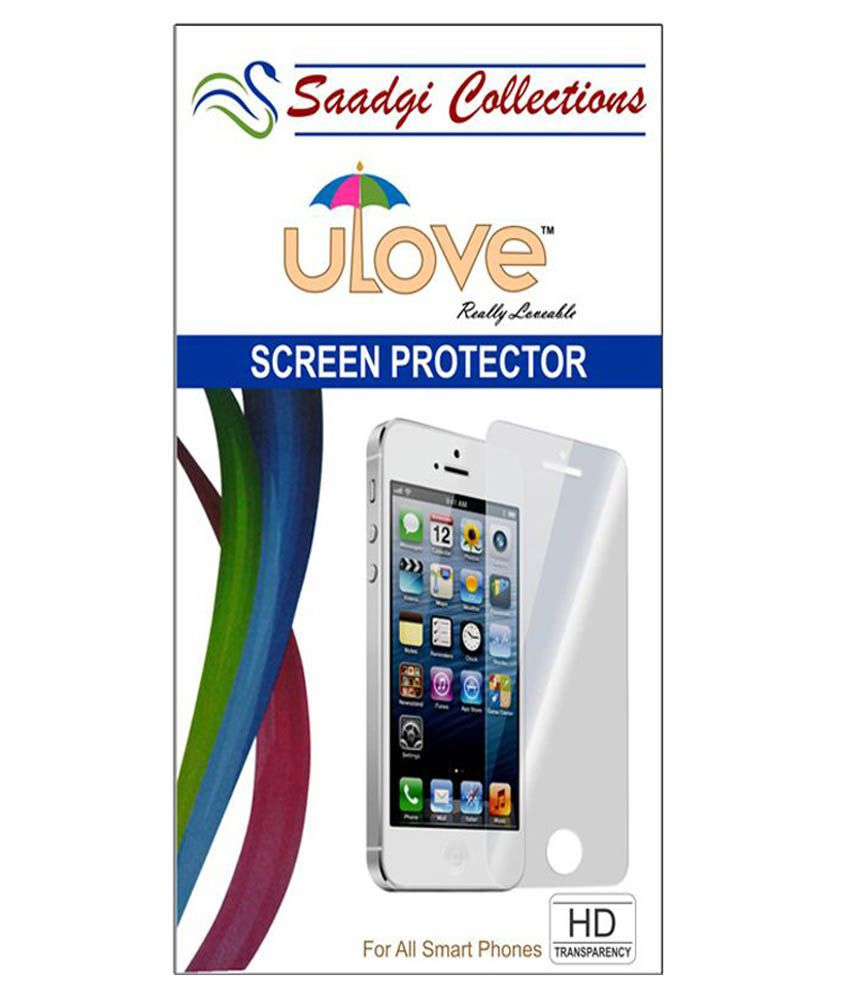 Nokia 530 - Combo Of 2 Screen Guard by Saadgi Collections
