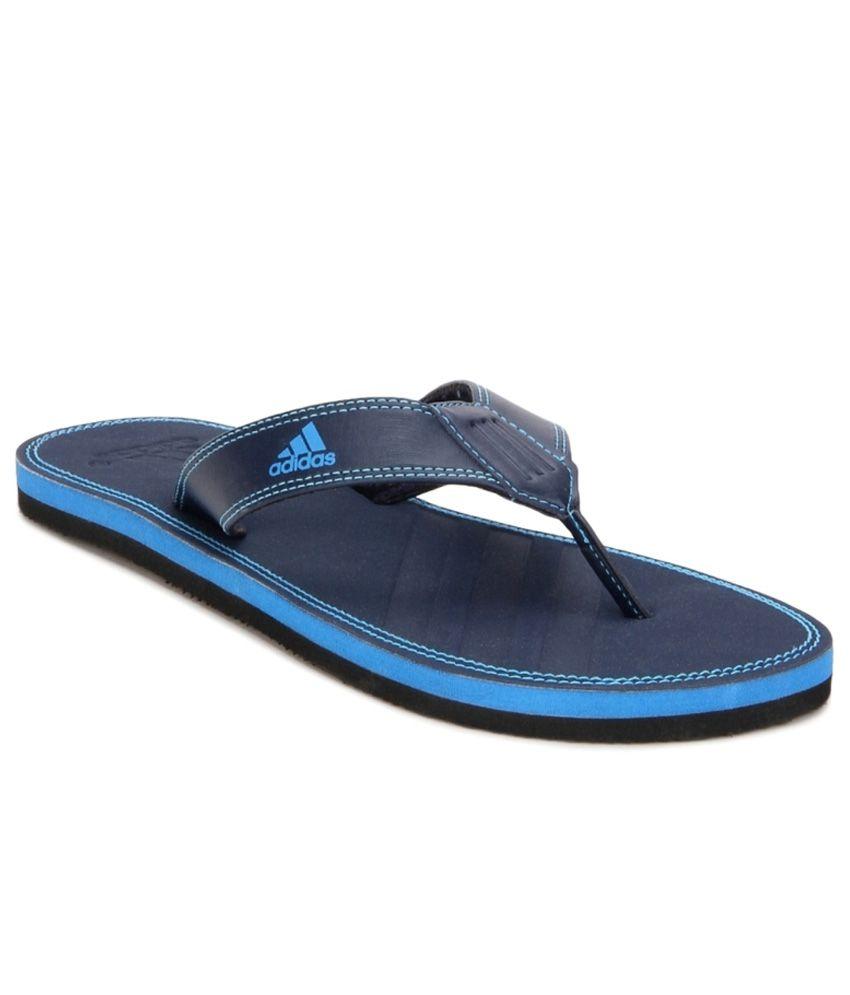 c7d3c2181f6c4c Adidas Blue Flip Flops Price in India- Buy Adidas Blue Flip Flops Online at  Snapdeal