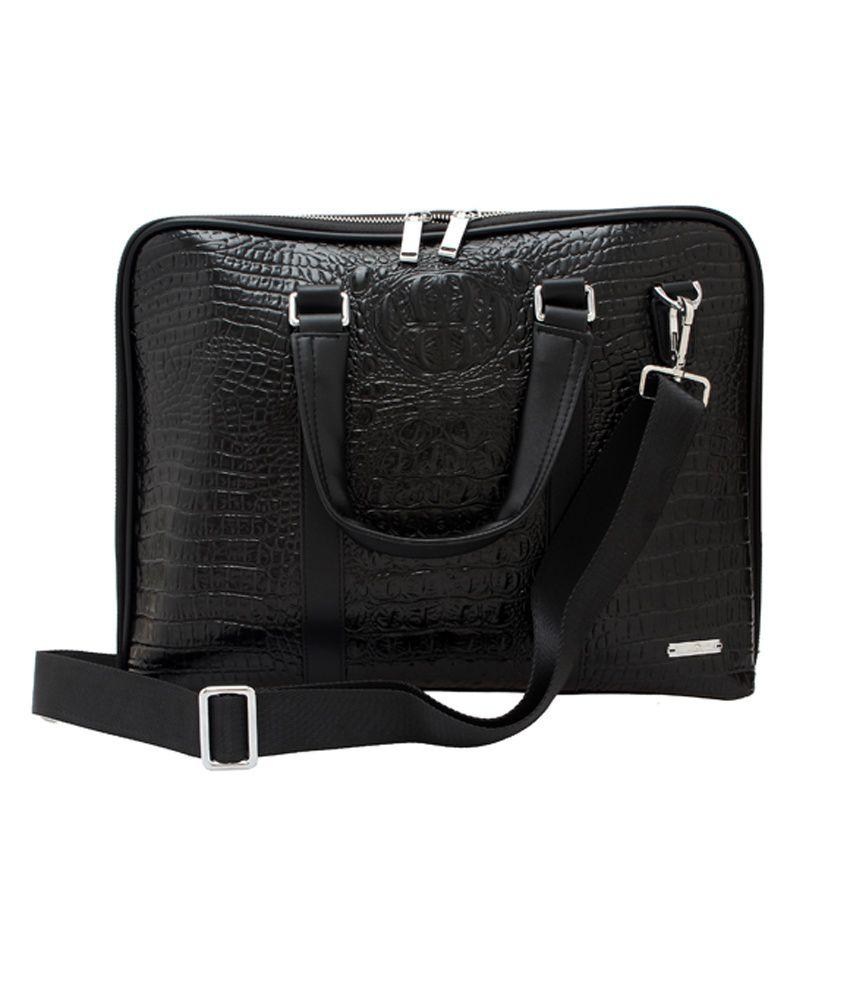 Dolphy Laptop Compatibility Black Laptop Bag