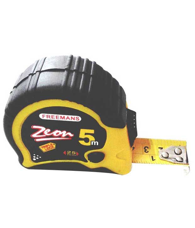 freemans Zeon Steel Measuring Tape (5 Mtrs)