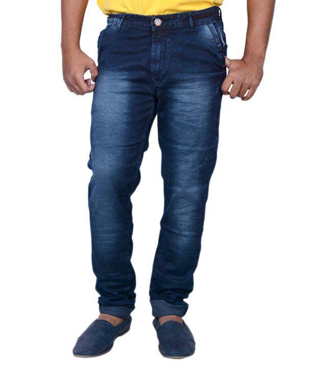 Luker Grey Slim Fit Jeans