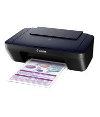 Canon Pixma E400 Multifunction Inkjet Printer (Black)