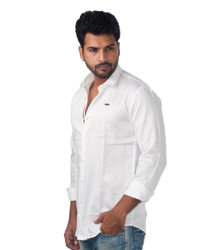 Grammer Basic White Color Shirt - Buy Grammer Basic White Color ...